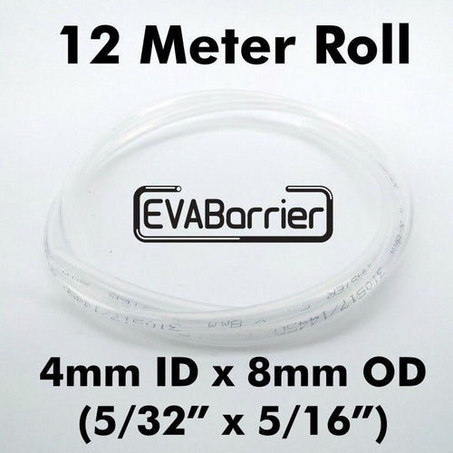 EVABarrier 4mm(5/32) x 8mm(5/16) Double Wall EVA (12meter Length in Bag) Beer Line / Gas Line - Three Chins Brewing