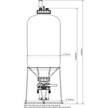 Load image into Gallery viewer, FermZilla - 55L - Conical Uni Tank Fermenter - NOW WITH STAINLESS HANDLE - Three Chins Brewing