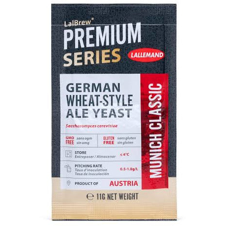 LALBREW® MUNICH CLASSIC WHEAT BEER YEAST - Three Chins Brewing