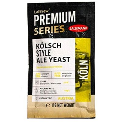 LALBREW PREMIUM SERIES KOLN KOLSCH YEAST, 11G - Three Chins Brewing