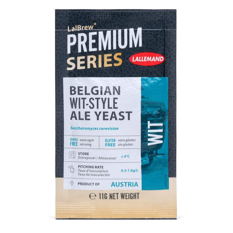 LALBREW® WIT BELGIAN WIT-STYLE ALE YEAST - Three Chins Brewing
