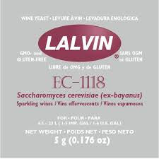 Lalvin EC1118 Wine Yeast - Three Chins Brewing