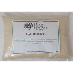 Light Dried Malt - Three Chins Brewing