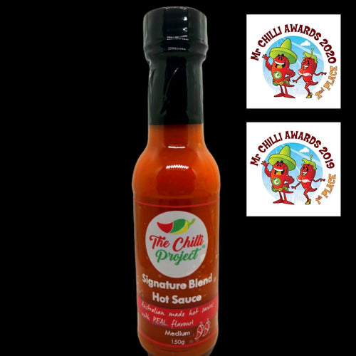 Signature Blend Hot Sauce (Medium) - Three Chins Brewing