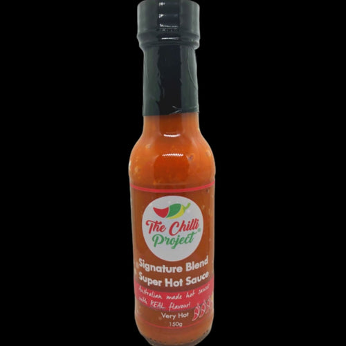 Signature Blend Super Hot Sauce (Very Hot) - Three Chins Brewing
