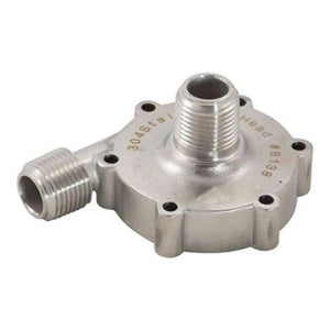 "Stainless Pump Head for MKII High Temperature Magnetic Drive Pump with 1/2"" BSP - Three Chins Brewing"