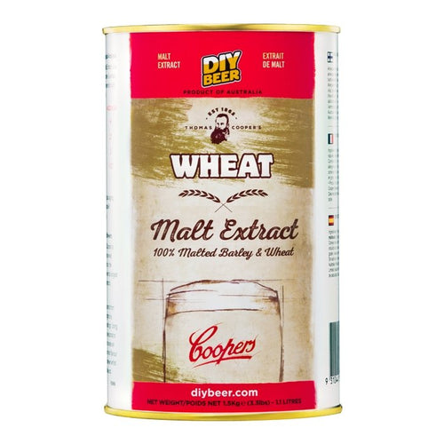 THOMAS COOPERS WHEAT MALT EXTRACT (1.5KG) - Three Chins Brewing