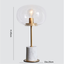 Load image into Gallery viewer, Post modern marble table lamps