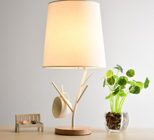 LED Table Lamps With Cloth Lampshade