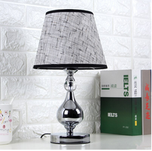 Load image into Gallery viewer, LED Crystal Bedroom Table Lamp