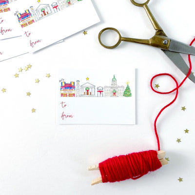 Athens Holiday Gift Tags