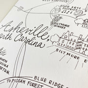 Asheville, North Carolina Map