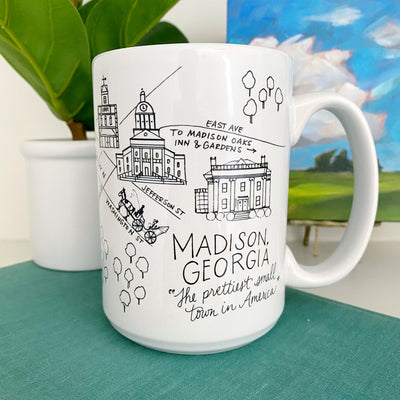 Madison, Georgia Map Mug