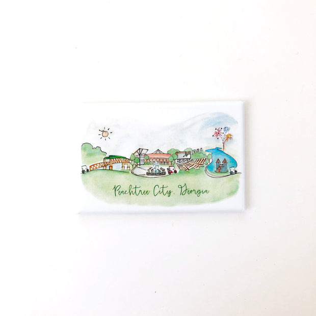 Peachtree City, Georgia Magnets
