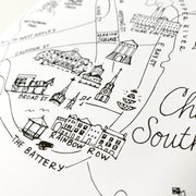 Charleston, South Carolina Map