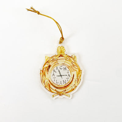Richs Clock Acrylic Ornament