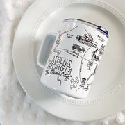Athens Map Travel Mug