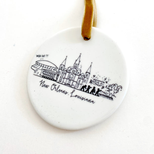New Orleans, Louisiana Ornament