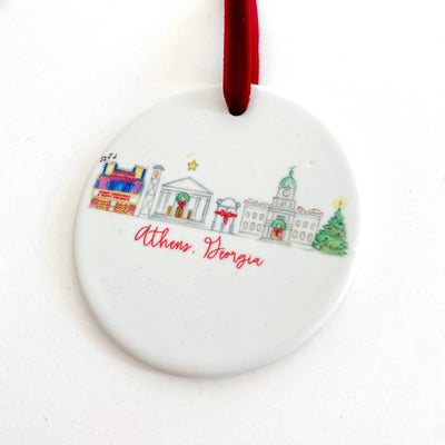 Athens, Georgia Holiday Ornament