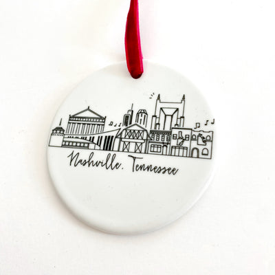 Nashville, Tennessee Ornament