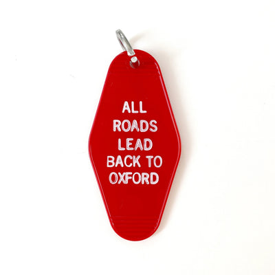 Oxford Roads Motel Keychain
