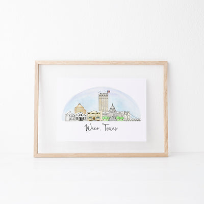 Waco, Texas Skyline