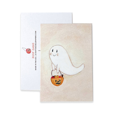 Cute Boo Ghost Postcards