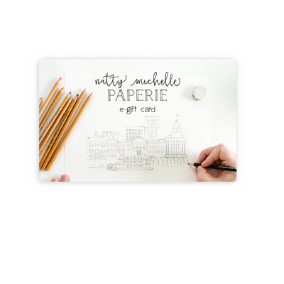 Natty Michelle Paperie e-gift card