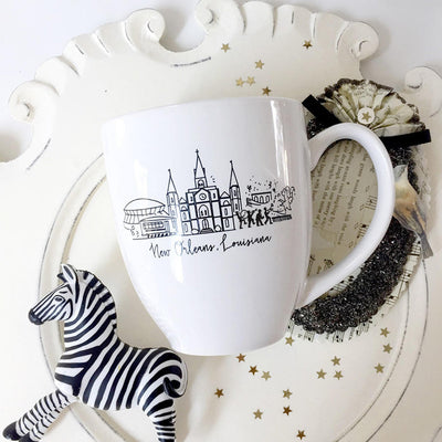 New Orleans, Louisiana Skyline Mug