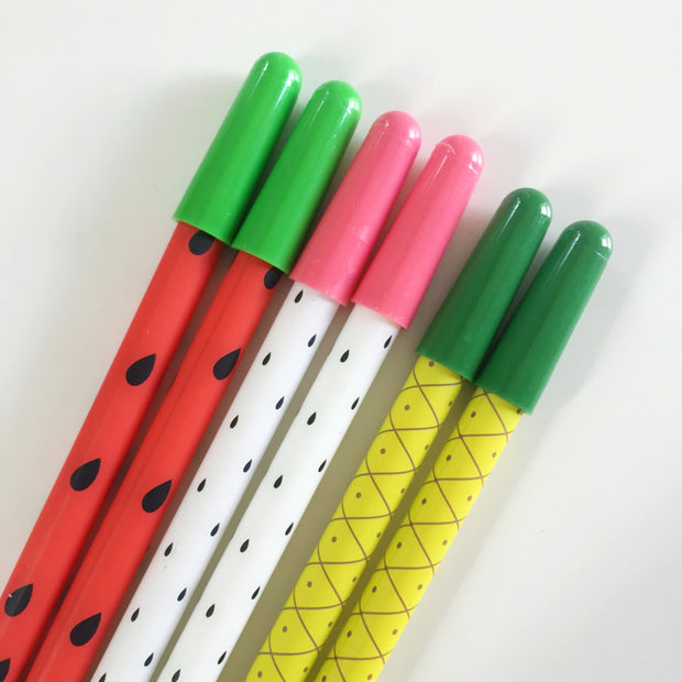 Fruit Pattern Pens