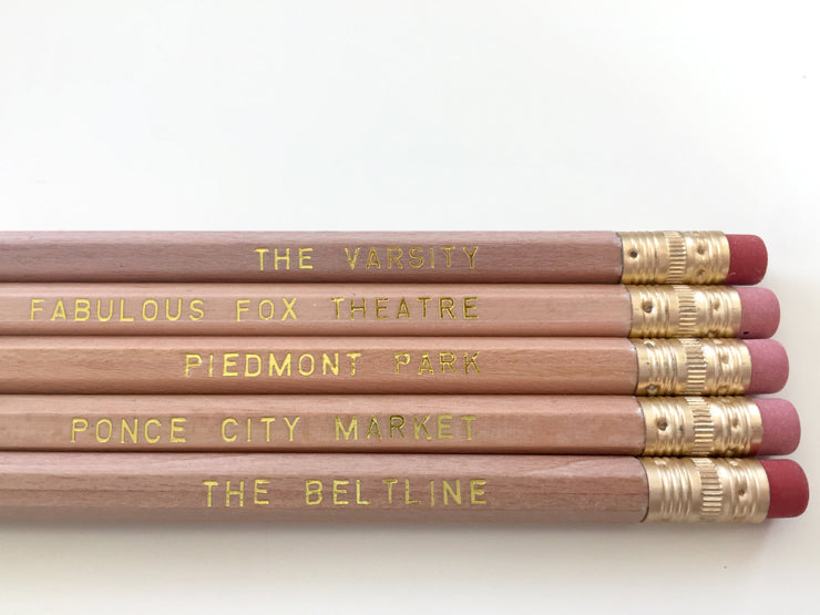 Atlanta Hometown Pencil Set
