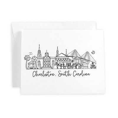 Charleston, South Carolina Skyline