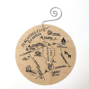 Peachtree City Birch Ornament