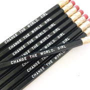 Change the World Girl Pencils