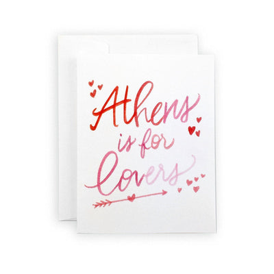 Athens is for Lovers Card or Notecard Set