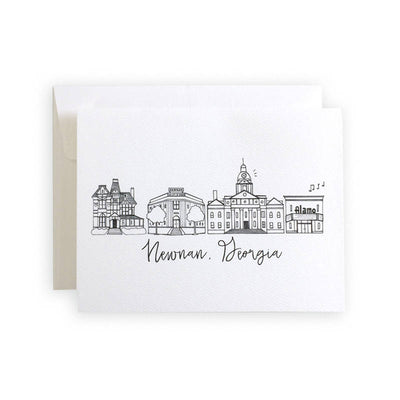 Newnan, Georgia Skyline