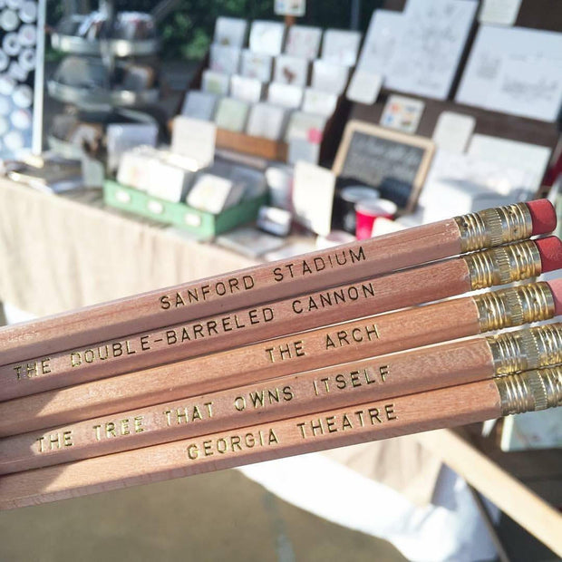 Athens, Georgia Hometown Pencil Set