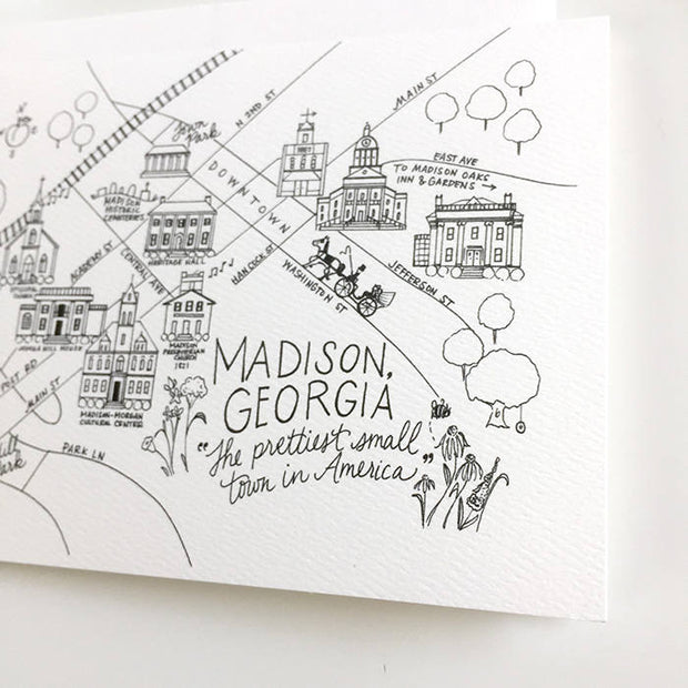 Madison, Georgia Map