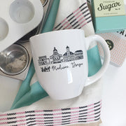 Madison, Georgia Skyline Mug
