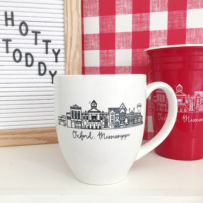 Oxford, Mississippi Skyline Mug