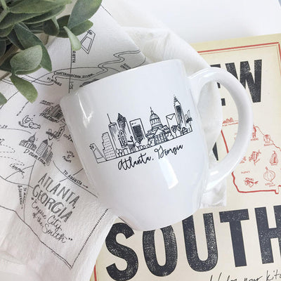 Atlanta, Georgia Skyline Mug