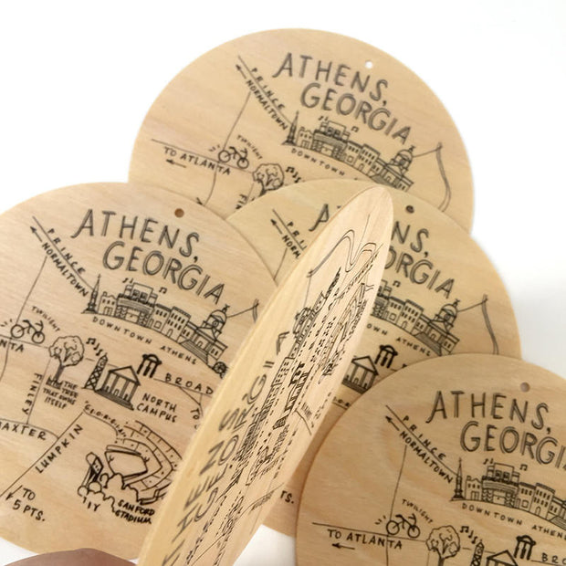 Athens Birch Ornament