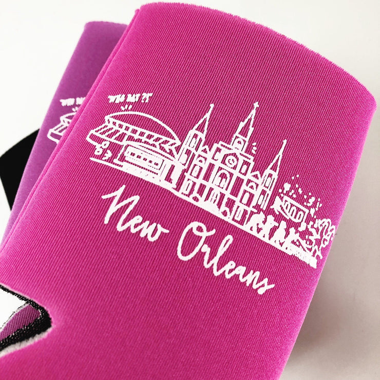 New Orleans, Louisiana Insulated Can Holder