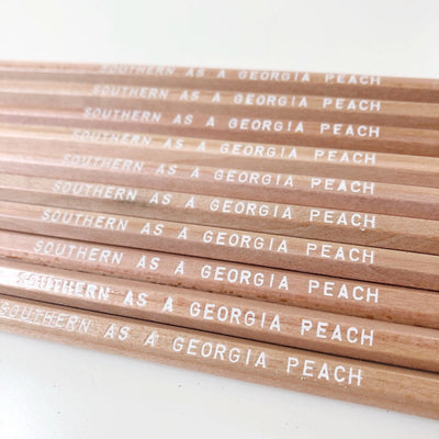 Southern as a Georgia Peach Pencils
