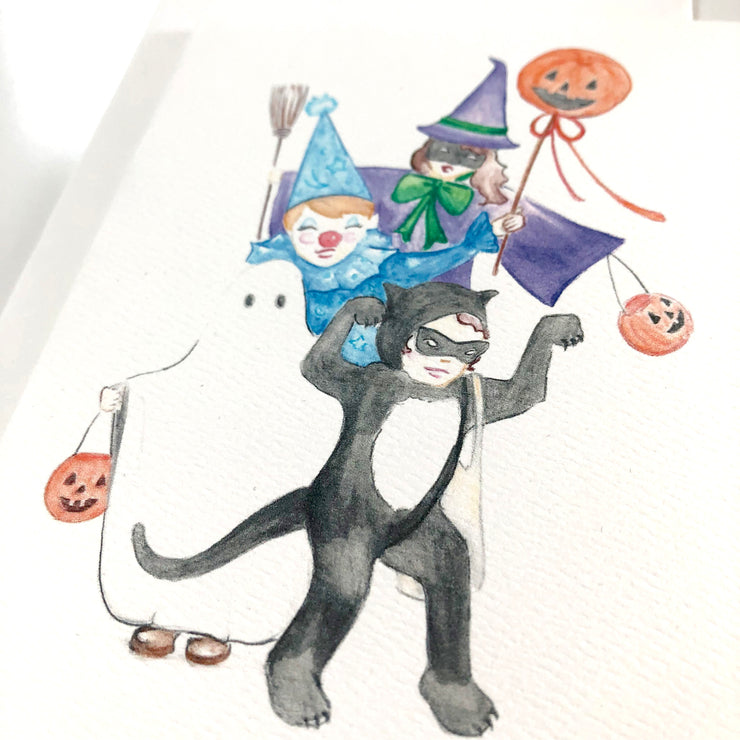 Trick or Treat Card or Notecard Set