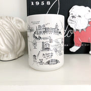 Athens, Georgia Map Mug