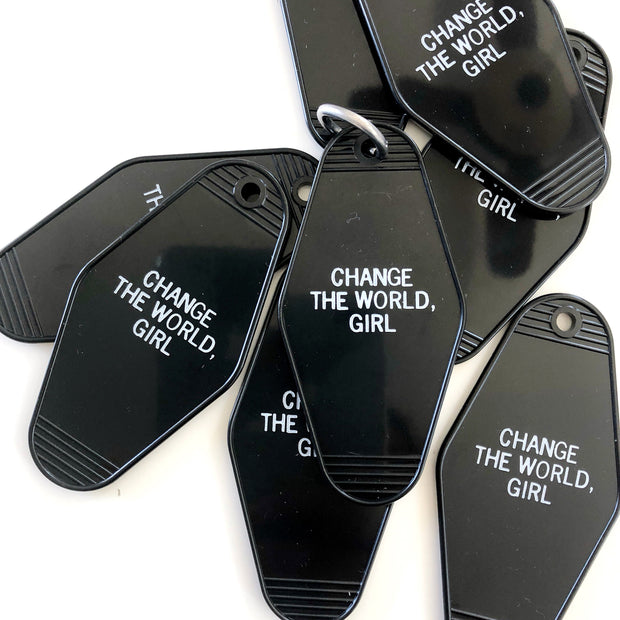 Change the World, Girl Motel Keychain