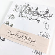 Atlanta, Georgia Landmarks Personalized Notepad