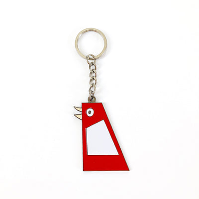 Marietta Big Chicken Keychain