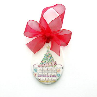 Atlanta Rich's Great Tree Ceramic Ornament